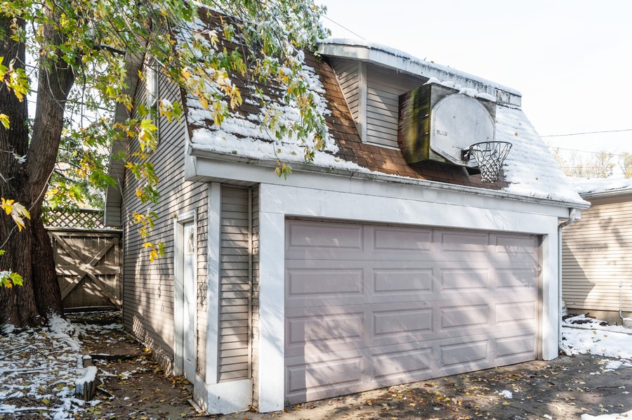 Real Estate Photography - 6308 N Sayre, Chicago, IL, 60631 - Garage
