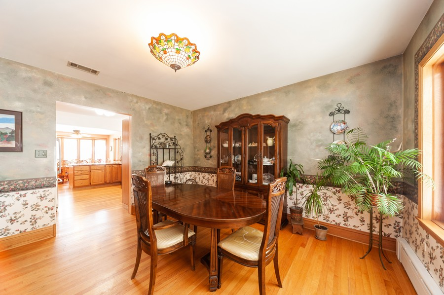 Real Estate Photography - 6308 N Sayre, Chicago, IL, 60631 - Dining Room