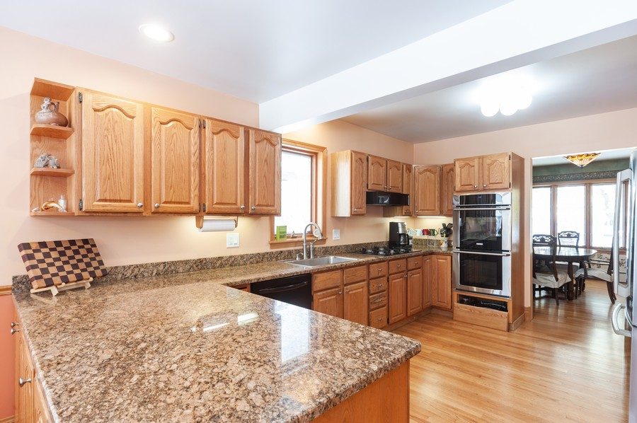 Real Estate Photography - 6308 N Sayre, Chicago, IL, 60631 - Kitchen
