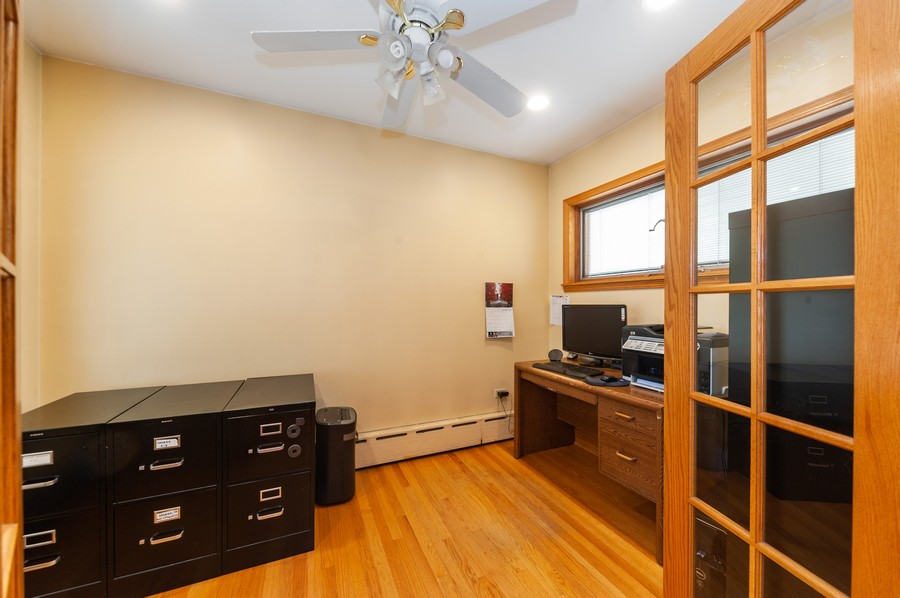 Real Estate Photography - 6308 N Sayre, Chicago, IL, 60631 - Office