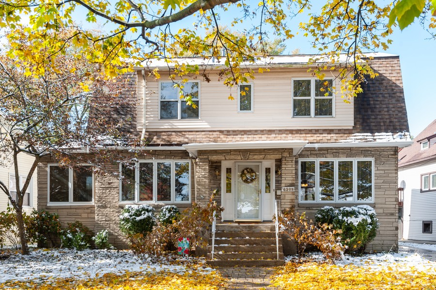 Real Estate Photography - 6308 N Sayre, Chicago, IL, 60631 - Front View