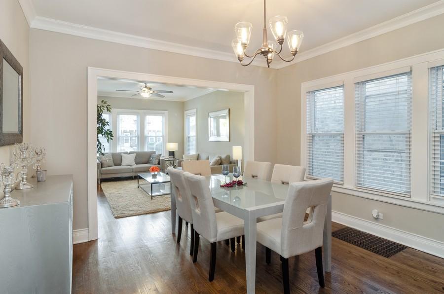 Real Estate Photography - 4918 N Kostner, Chicago, IL, 60630 - Dining Room