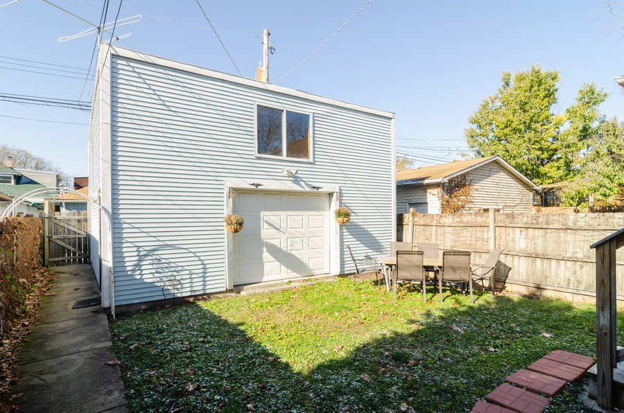 Real Estate Photography - 4918 N Kostner, Chicago, IL, 60630 - Back Yard