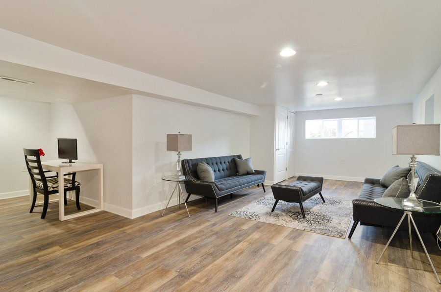 Real Estate Photography - 4918 N Kostner, Chicago, IL, 60630 - Family Room