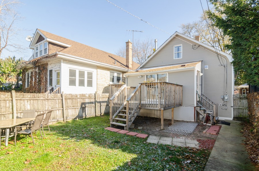 Real Estate Photography - 4918 N Kostner, Chicago, IL, 60630 - Rear View