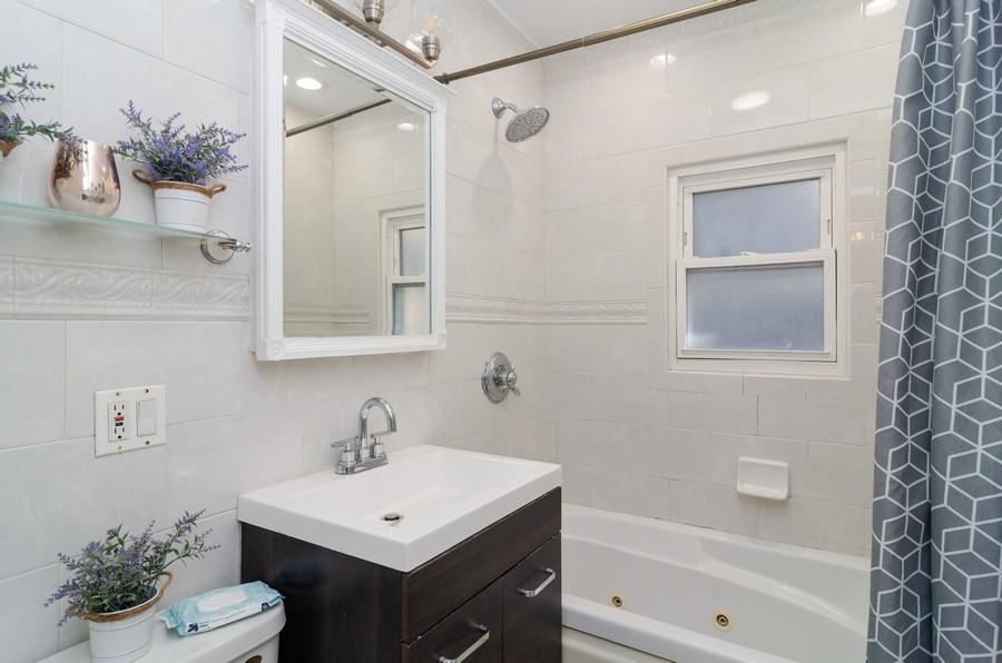 Real Estate Photography - 4918 N Kostner, Chicago, IL, 60630 - Bathroom