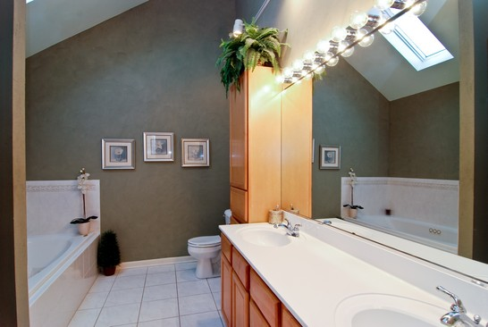 Real Estate Photography - 1654 N Washtenaw, Chicago, IL, 60647 - Master Bathroom
