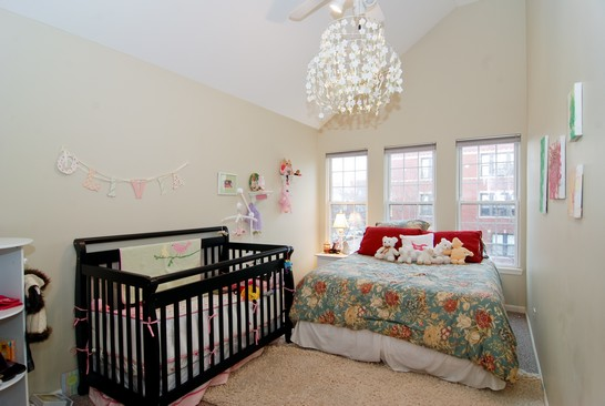 Real Estate Photography - 1654 N Washtenaw, Chicago, IL, 60647 - 3rd Bedroom
