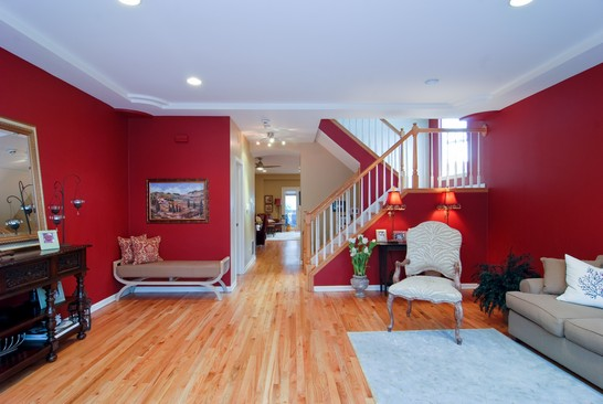 Real Estate Photography - 1654 N Washtenaw, Chicago, IL, 60647 - Living Room