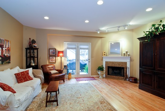 Real Estate Photography - 1654 N Washtenaw, Chicago, IL, 60647 - Family Room