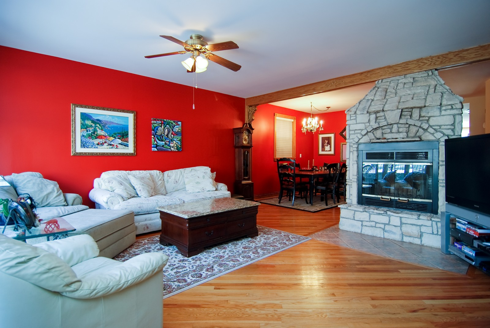 Real Estate Photography - 1834 N Marshfield, Chicago, IL, 60622 - Living Room
