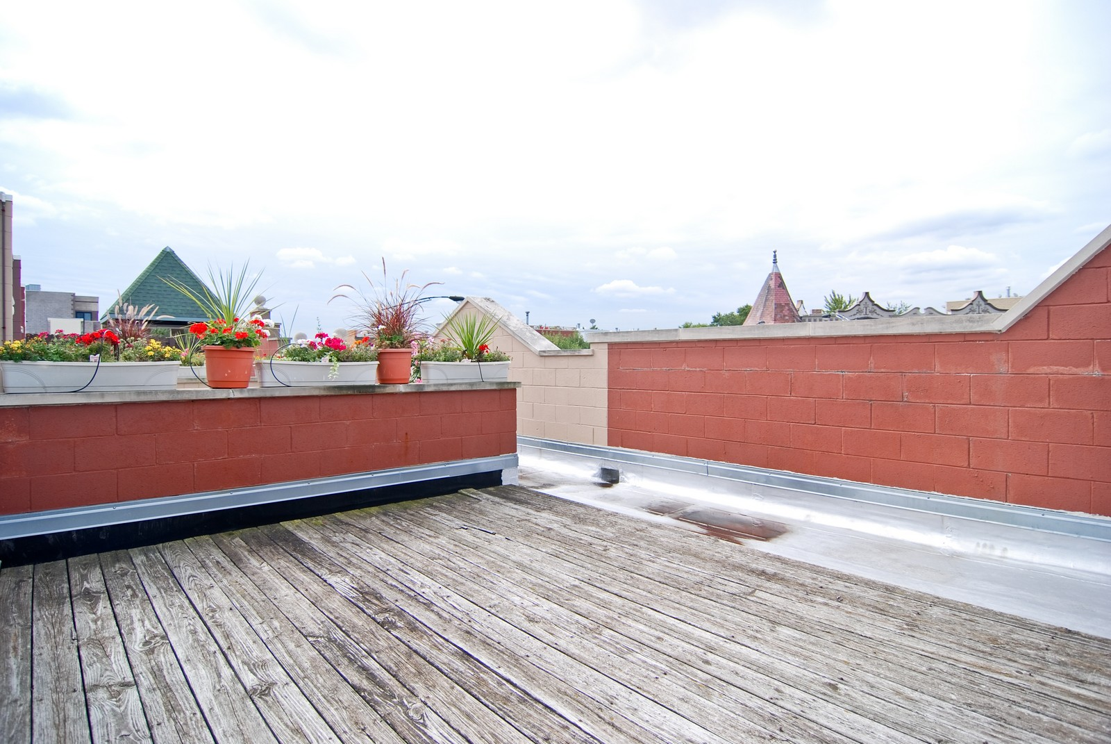 Real Estate Photography - 2901 N Lakewood, Unit E, Chicago, IL, 60657 - Roof Deck