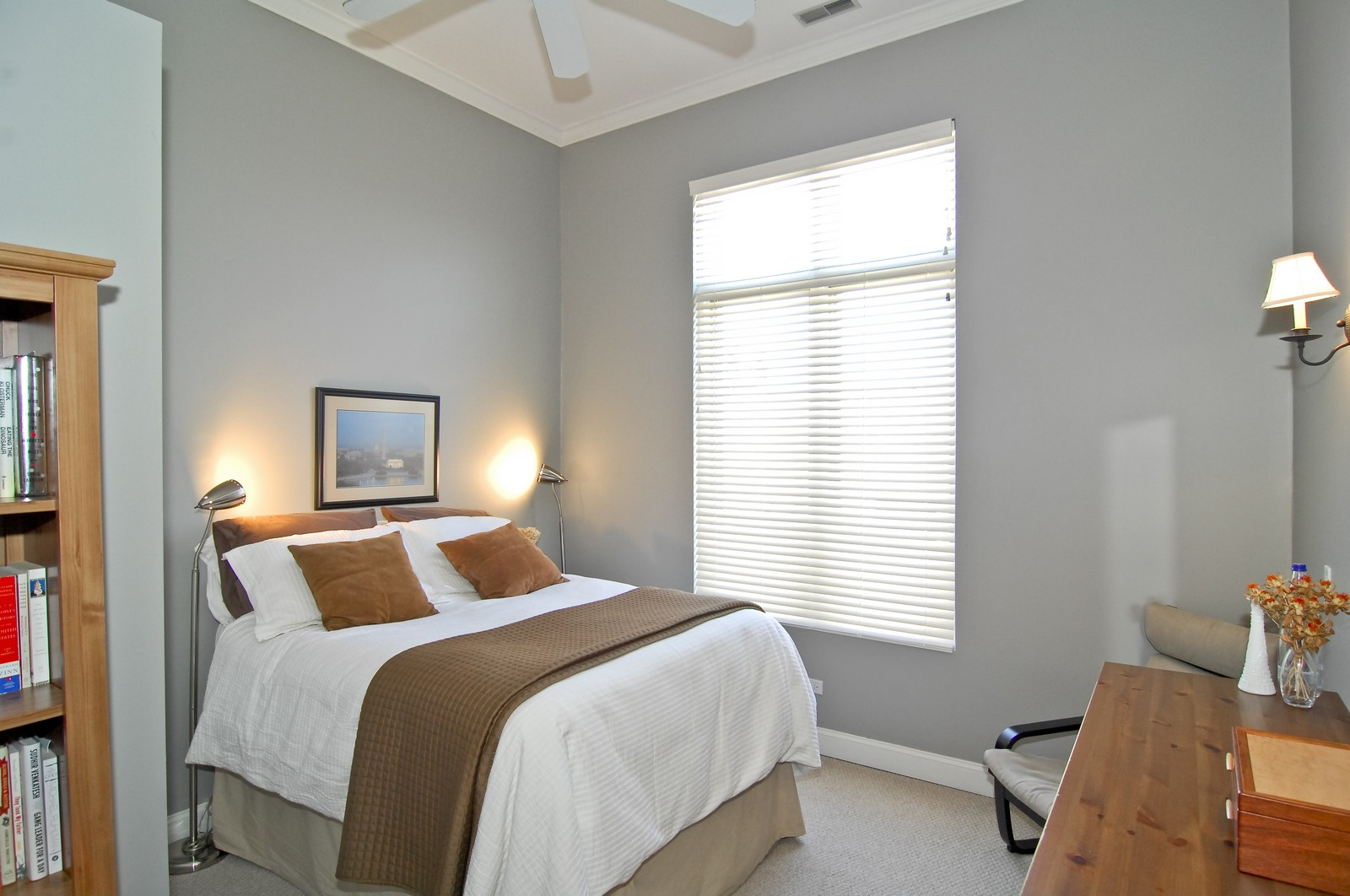 Real Estate Photography - 1865 N Winnebago, Unit 4, Chicago, IL, 60647 - 2nd Bedroom