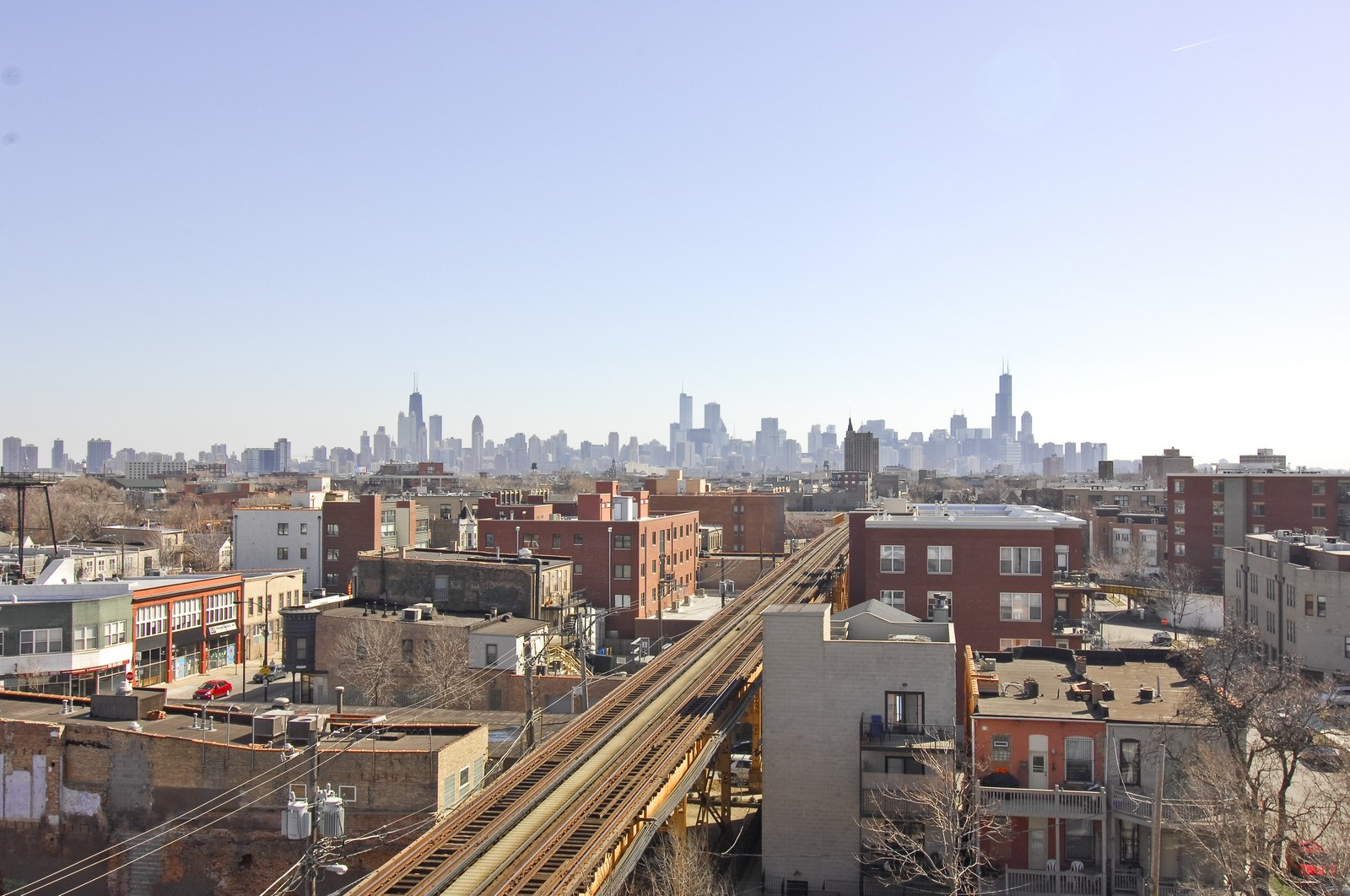 Real Estate Photography - 1865 N Winnebago, Unit 4, Chicago, IL, 60647 - View
