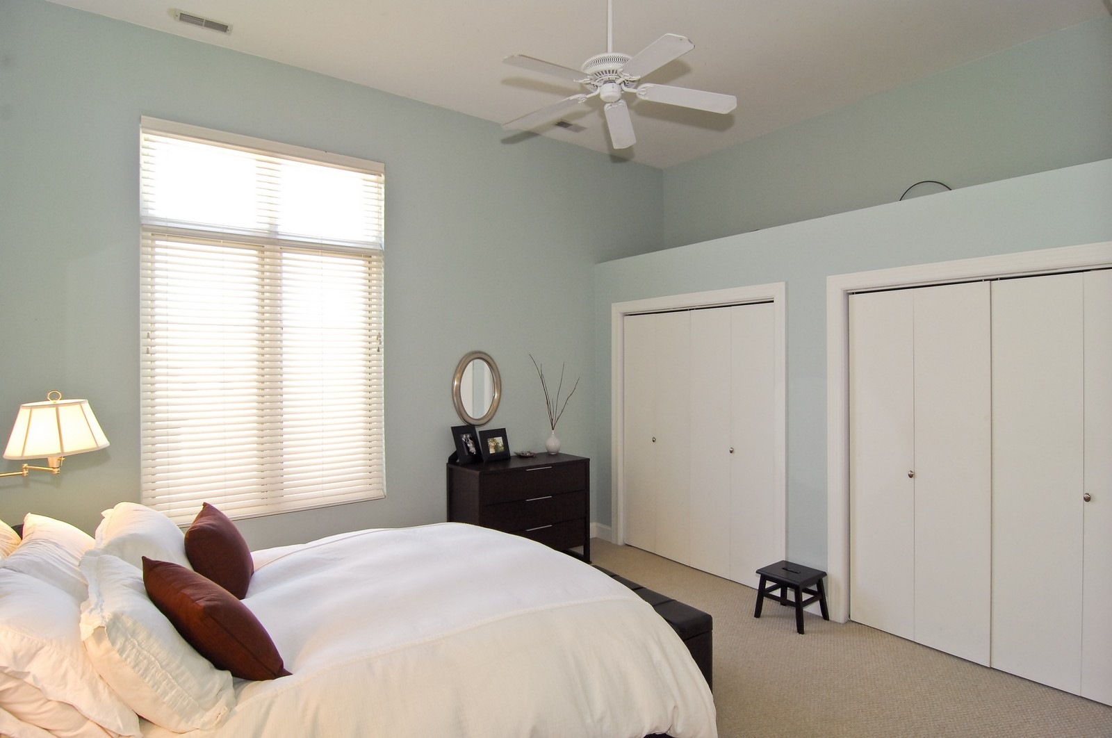 Real Estate Photography - 1865 N Winnebago, Unit 4, Chicago, IL, 60647 - Master Bedroom
