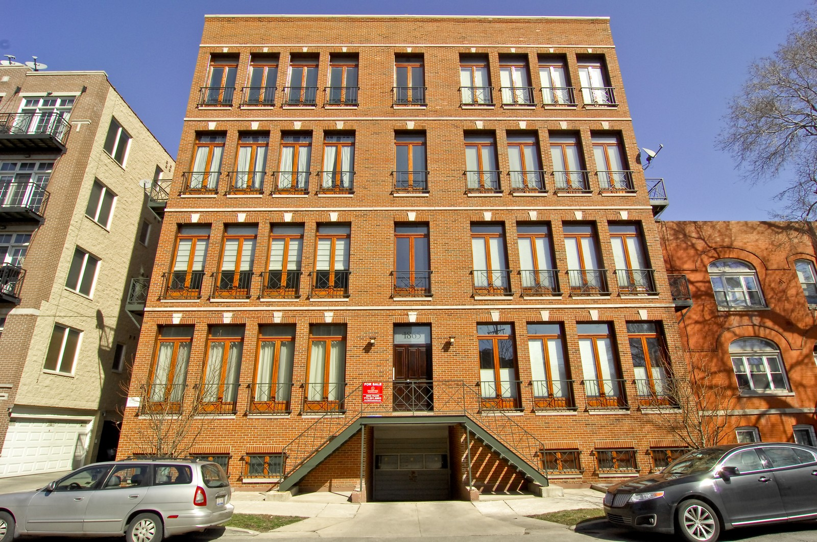 Real Estate Photography - 1865 N Winnebago, Unit 4, Chicago, IL, 60647 - Front View
