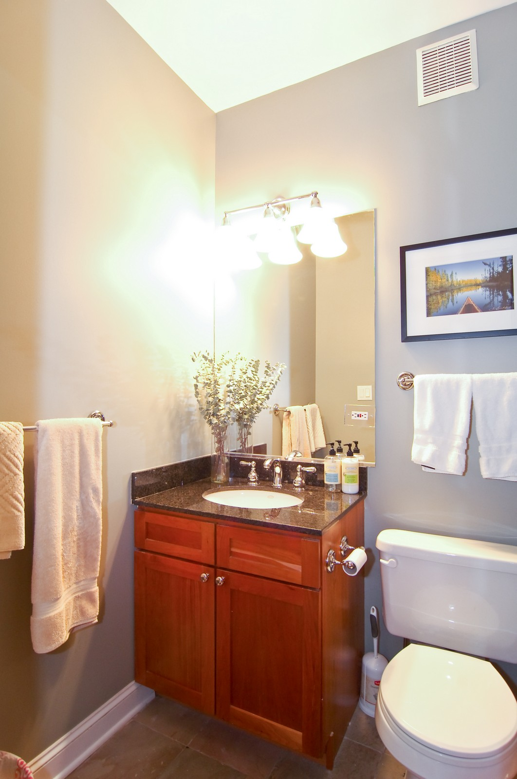 Real Estate Photography - 1865 N Winnebago, Unit 4, Chicago, IL, 60647 - Bathroom