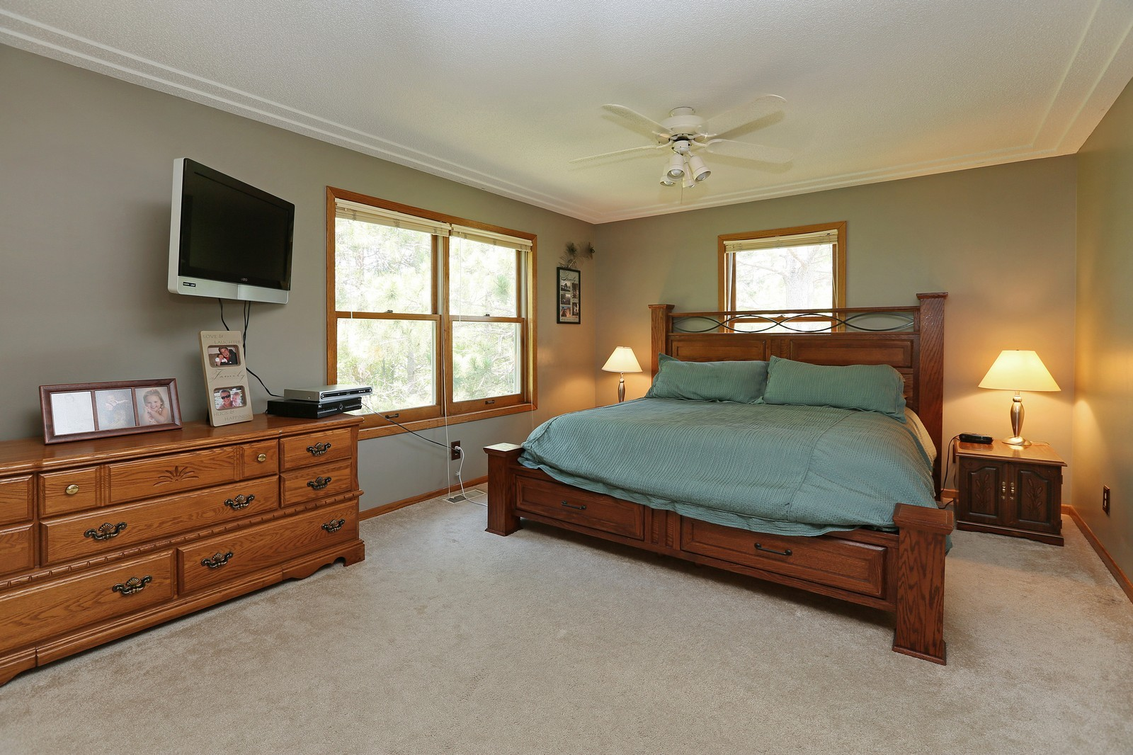 Real Estate Photography - 25917 Xylite St NE, Isanti, MN, 55040 - Master Bedroom