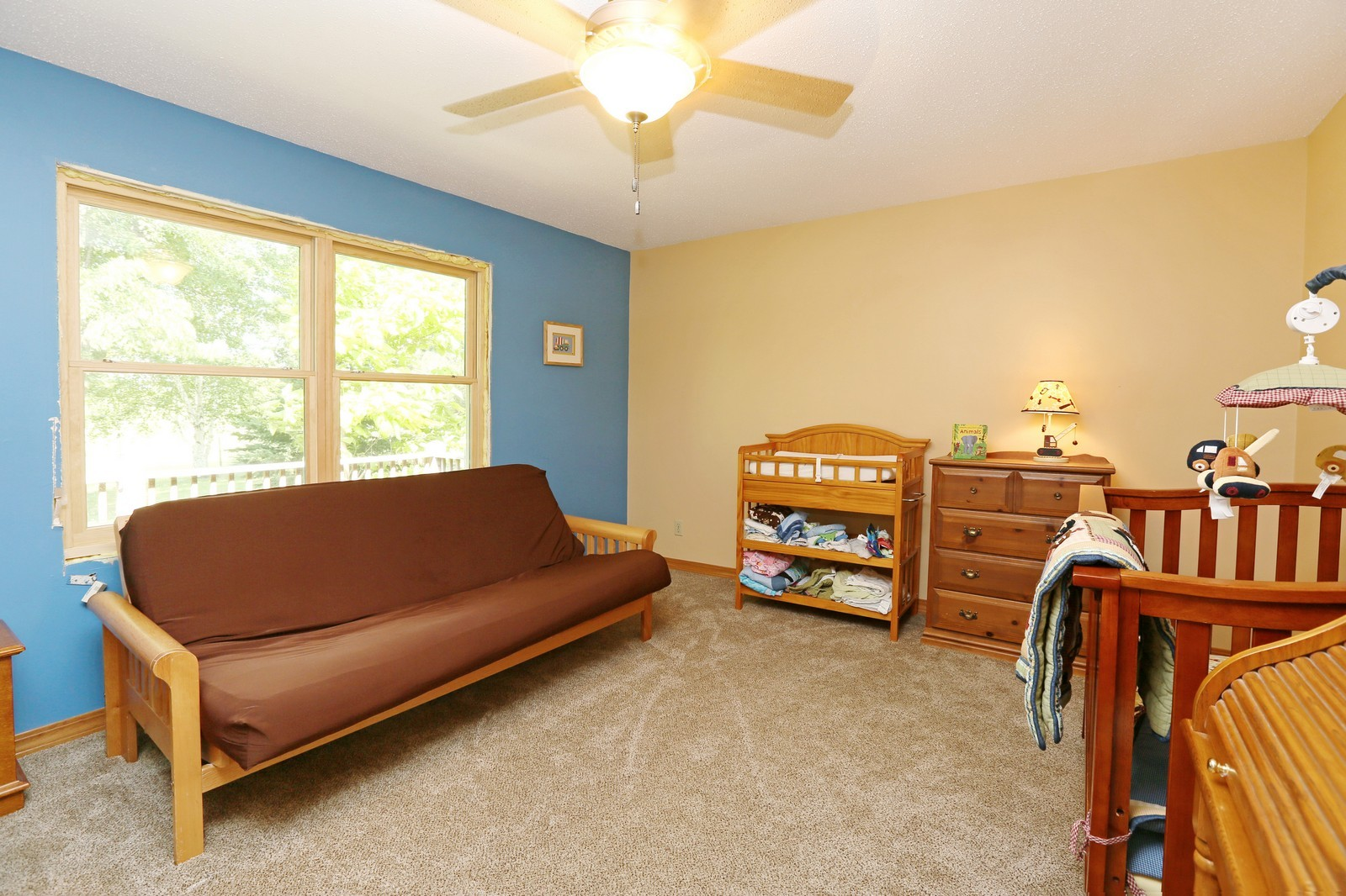 Real Estate Photography - 25917 Xylite St NE, Isanti, MN, 55040 - 2nd Bedroom