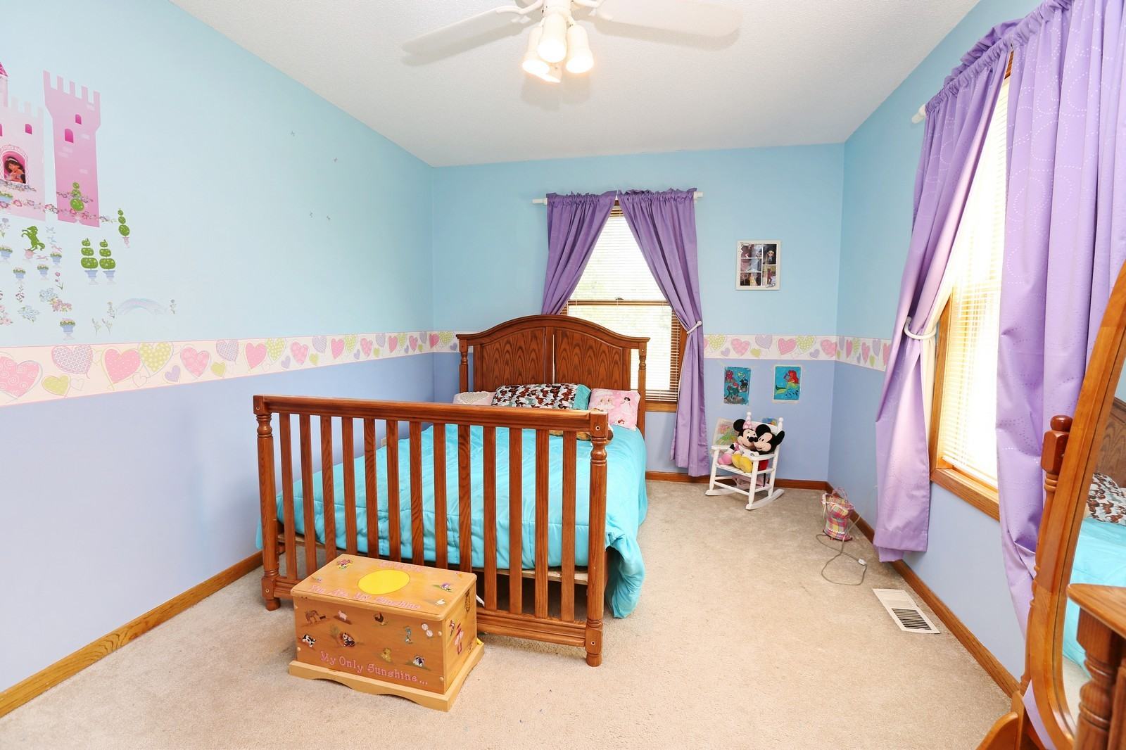 Real Estate Photography - 25917 Xylite St NE, Isanti, MN, 55040 - 3rd Bedroom