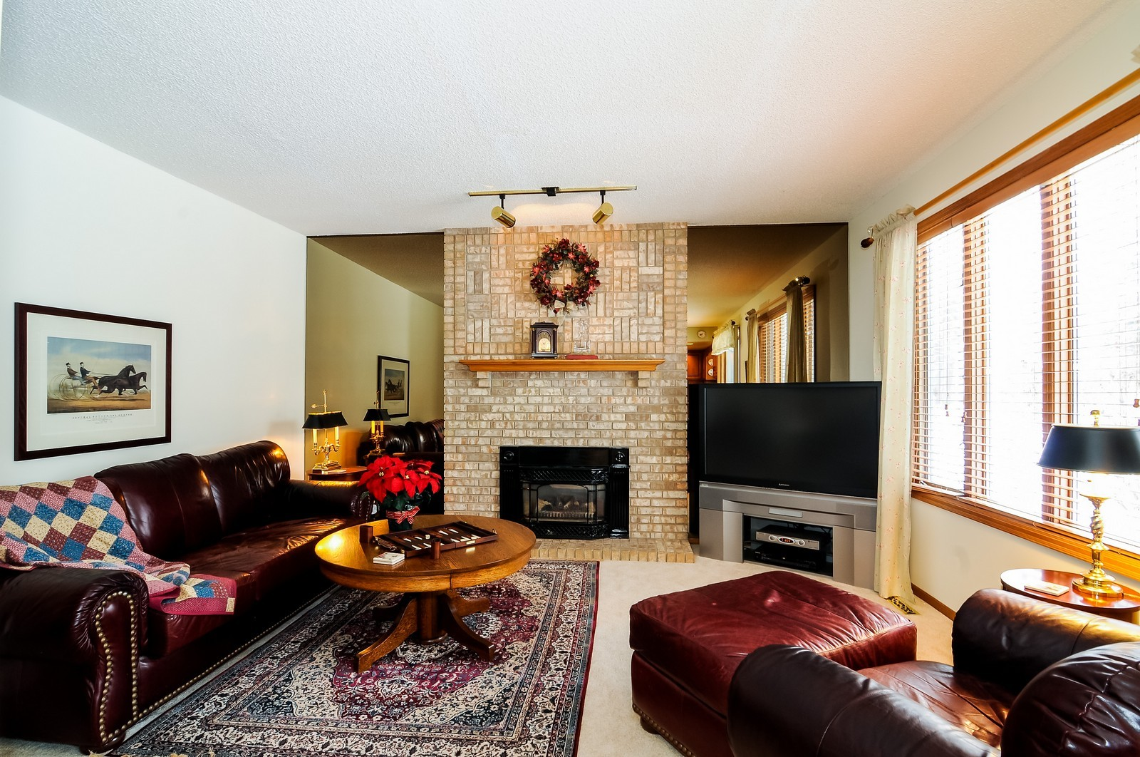 Real Estate Photography - 1933 128th Ave NW, Coon Rapids, MN, 55448 - Family Room
