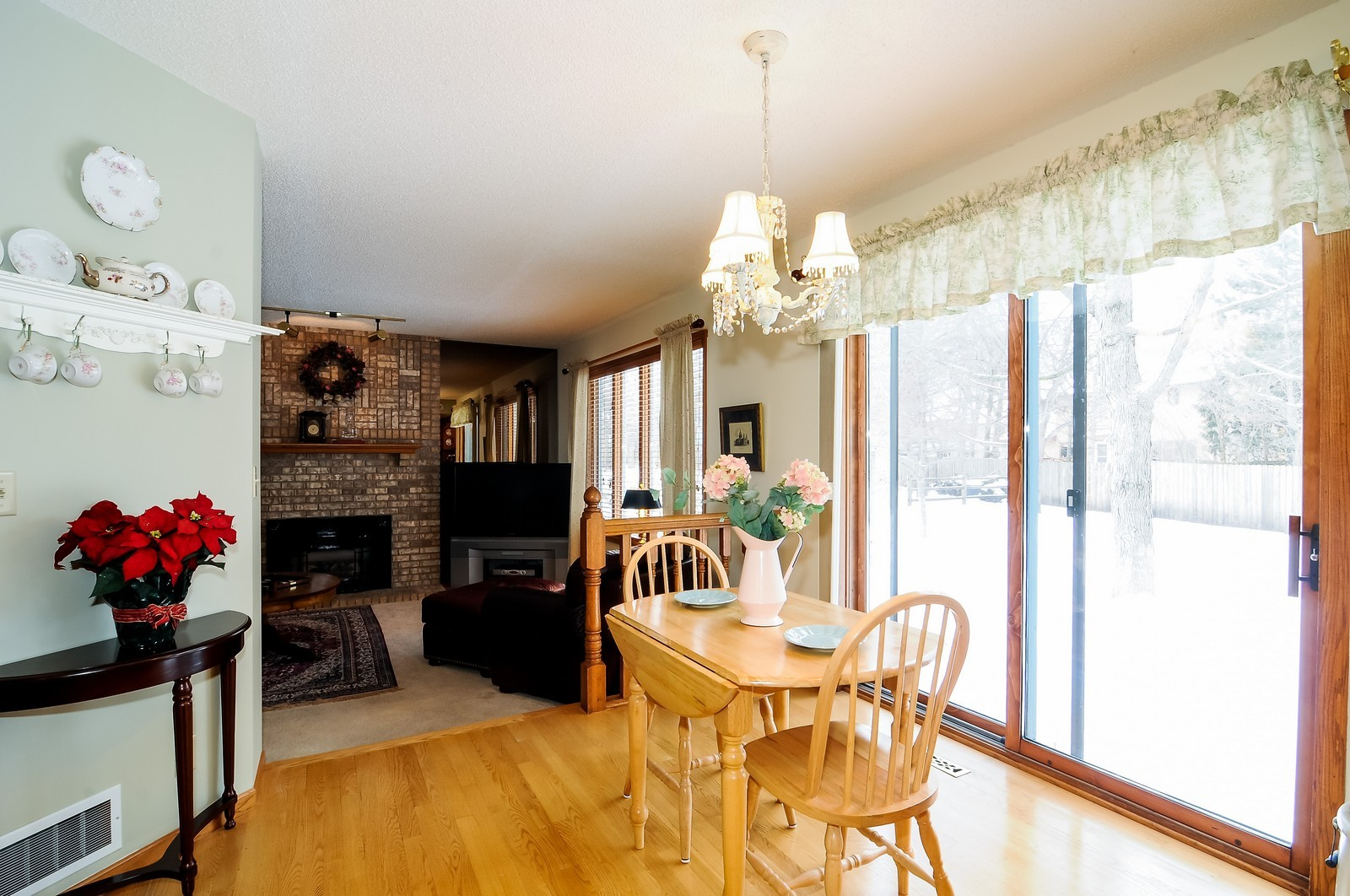 Real Estate Photography - 1933 128th Ave NW, Coon Rapids, MN, 55448 - Family Room / Kitchen