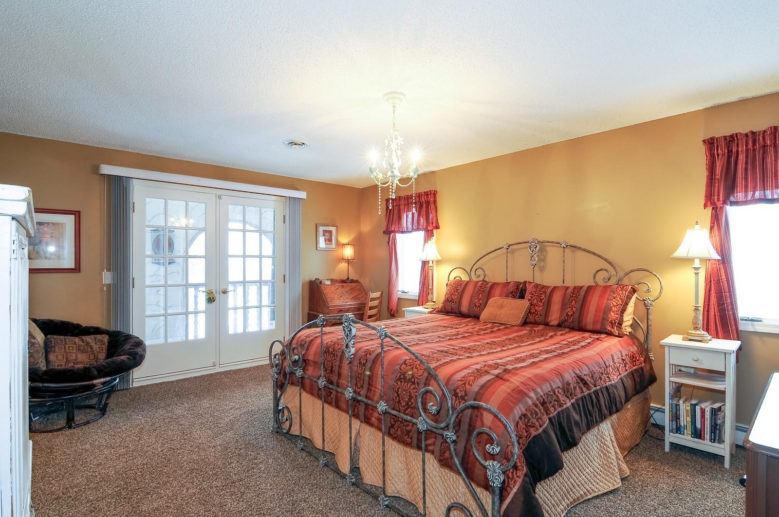 Real Estate Photography - 5171 Hilltop Ave N, Lake Elmo, MN, 55042 - Master Bedroom