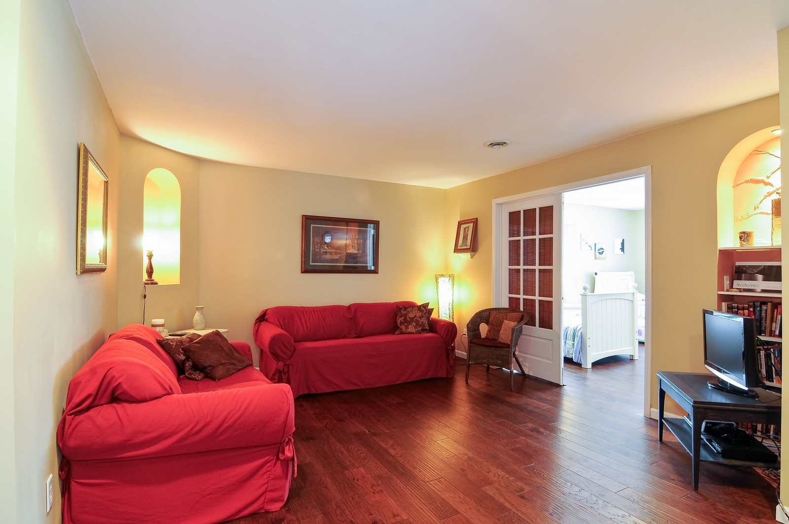 Real Estate Photography - 5171 Hilltop Ave N, Lake Elmo, MN, 55042 - Living Rm/Family Rm