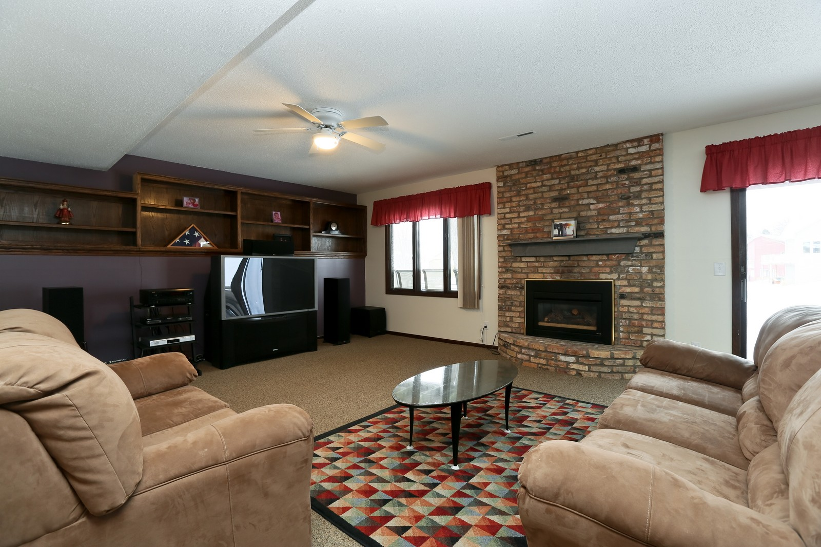 Real Estate Photography - 3250 Williams Lane, Minnetrista, MN, 55364 - Living Room