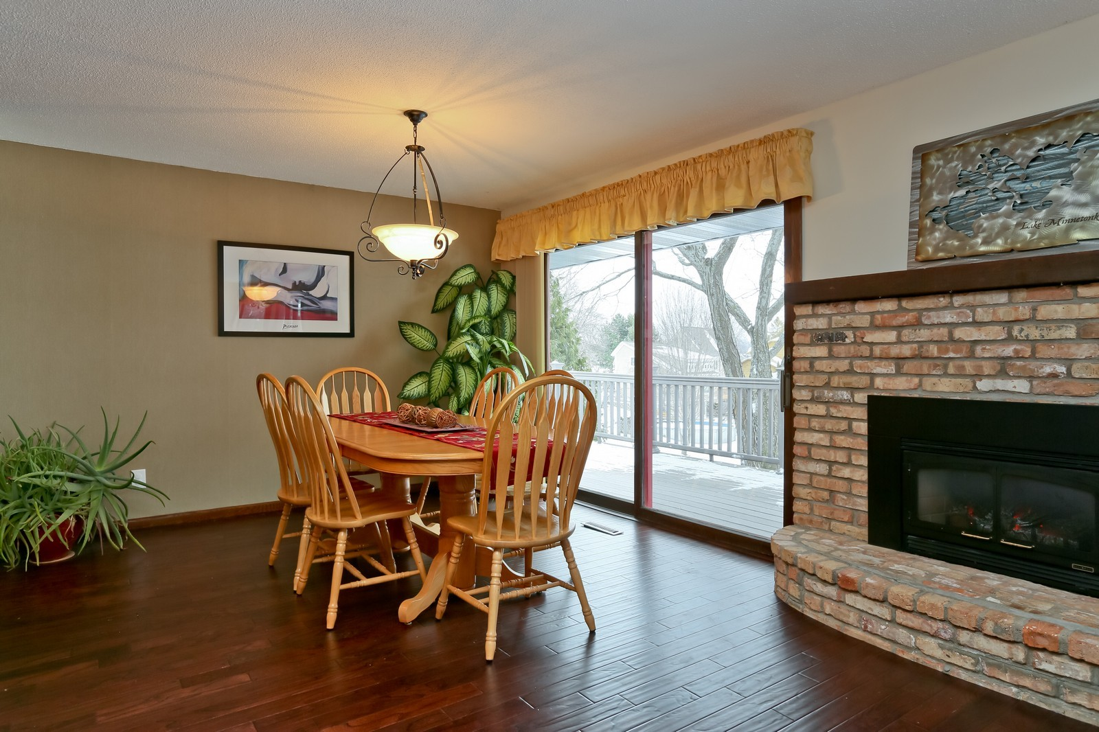 Real Estate Photography - 3250 Williams Lane, Minnetrista, MN, 55364 - Dining Room