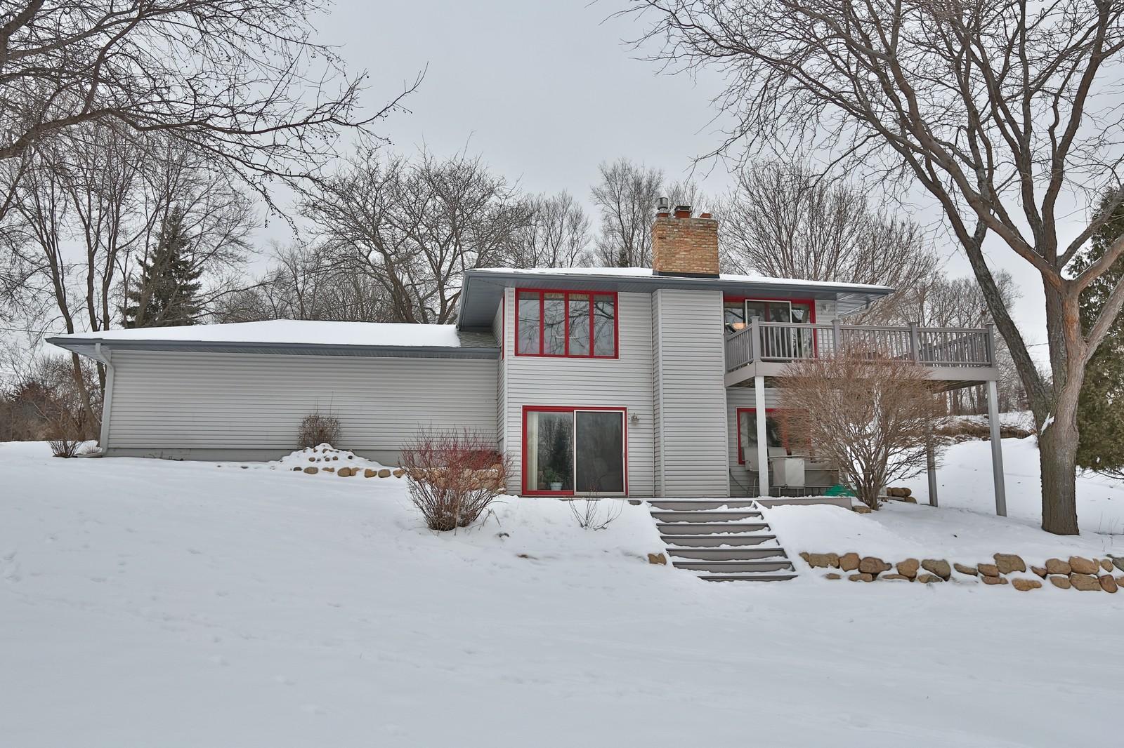Real Estate Photography - 3250 Williams Lane, Minnetrista, MN, 55364 - Back Yard