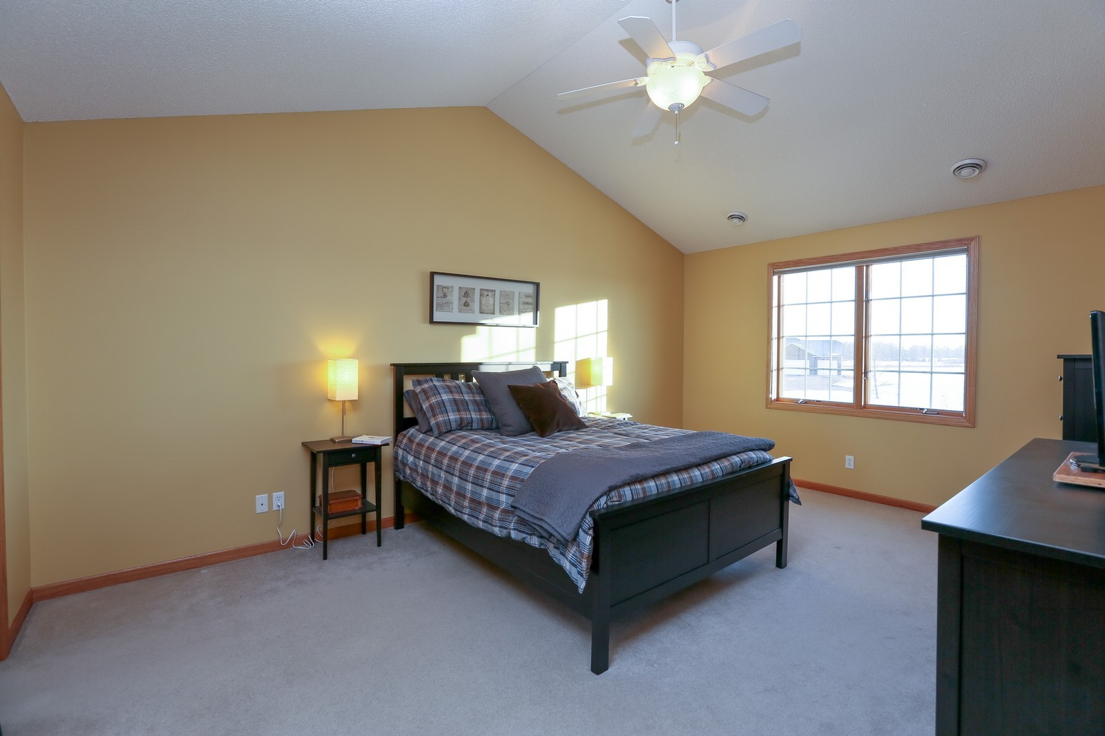 Real Estate Photography - 23160 Meadowview Dr, Corcoran, MN, 55374 - Master Bedroom
