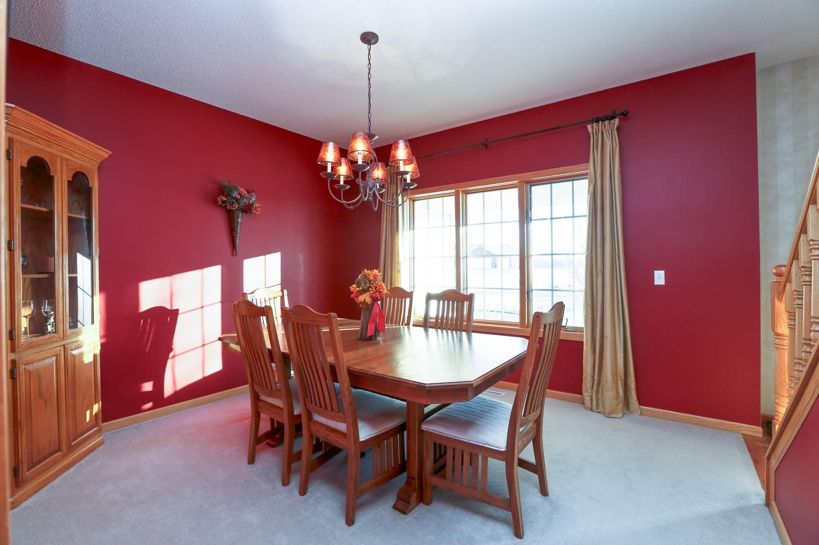 Real Estate Photography - 23160 Meadowview Dr, Corcoran, MN, 55374 - Dining Room