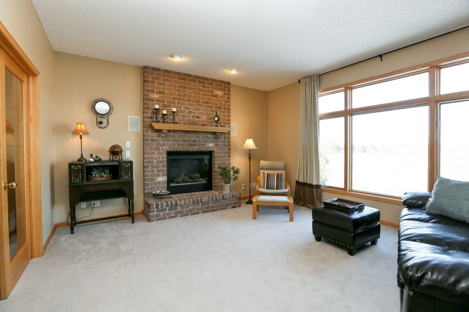 Real Estate Photography - 23160 Meadowview Dr, Corcoran, MN, 55374 - Family Room