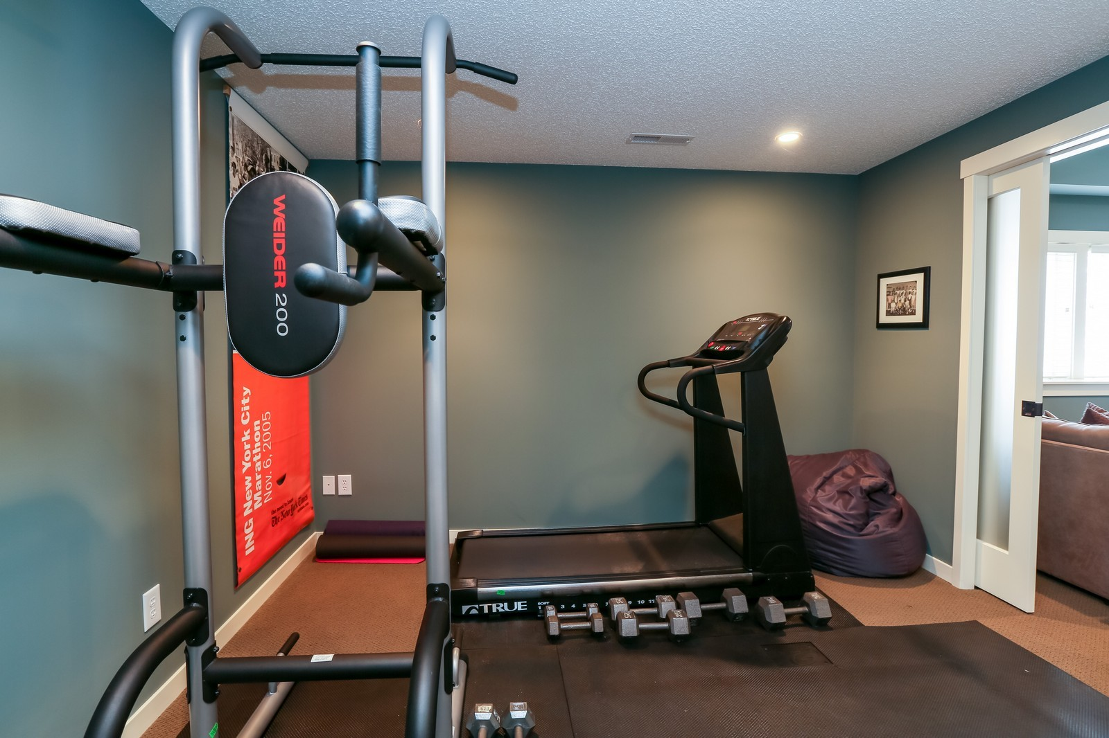 Real Estate Photography - 170 Rutherford Rd, Stillwater, MN, 55082 - Exercise Room