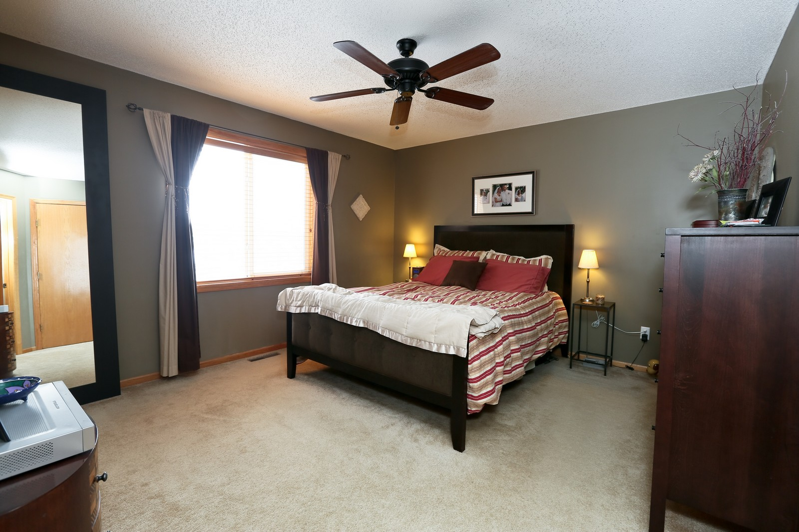 Real Estate Photography - 15488 Linnet Street NW, Andover, MN, 55304 - Master Bedroom