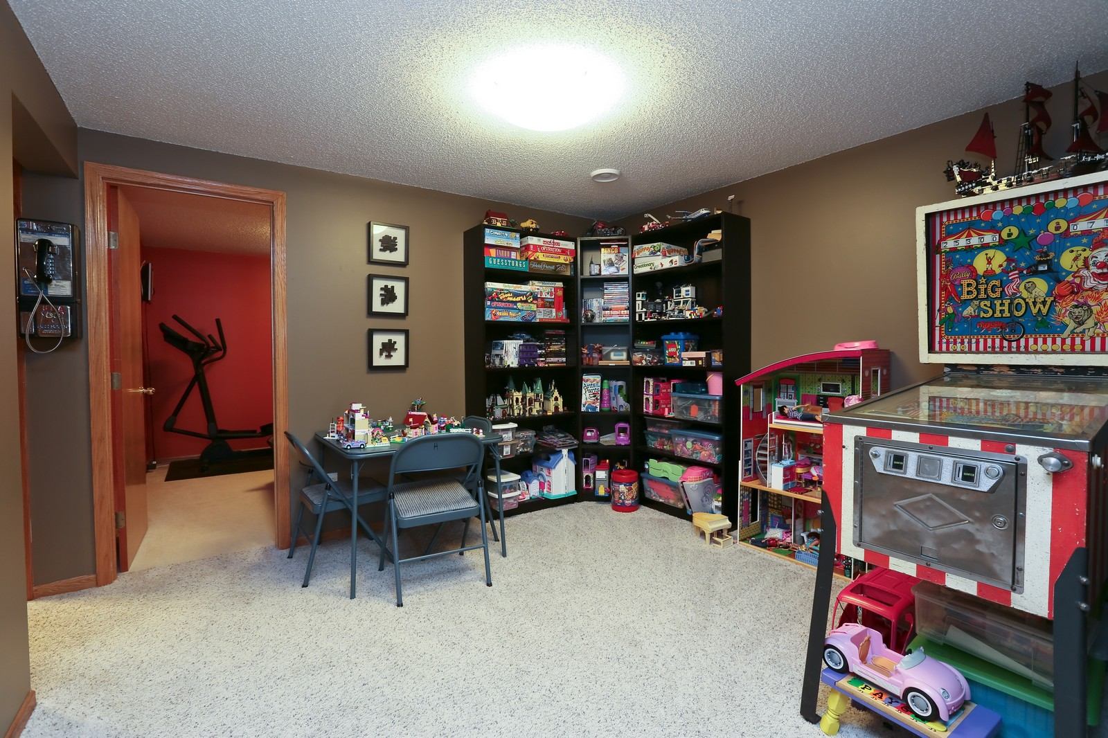 Real Estate Photography - 15488 Linnet Street NW, Andover, MN, 55304 - Entertainment Room