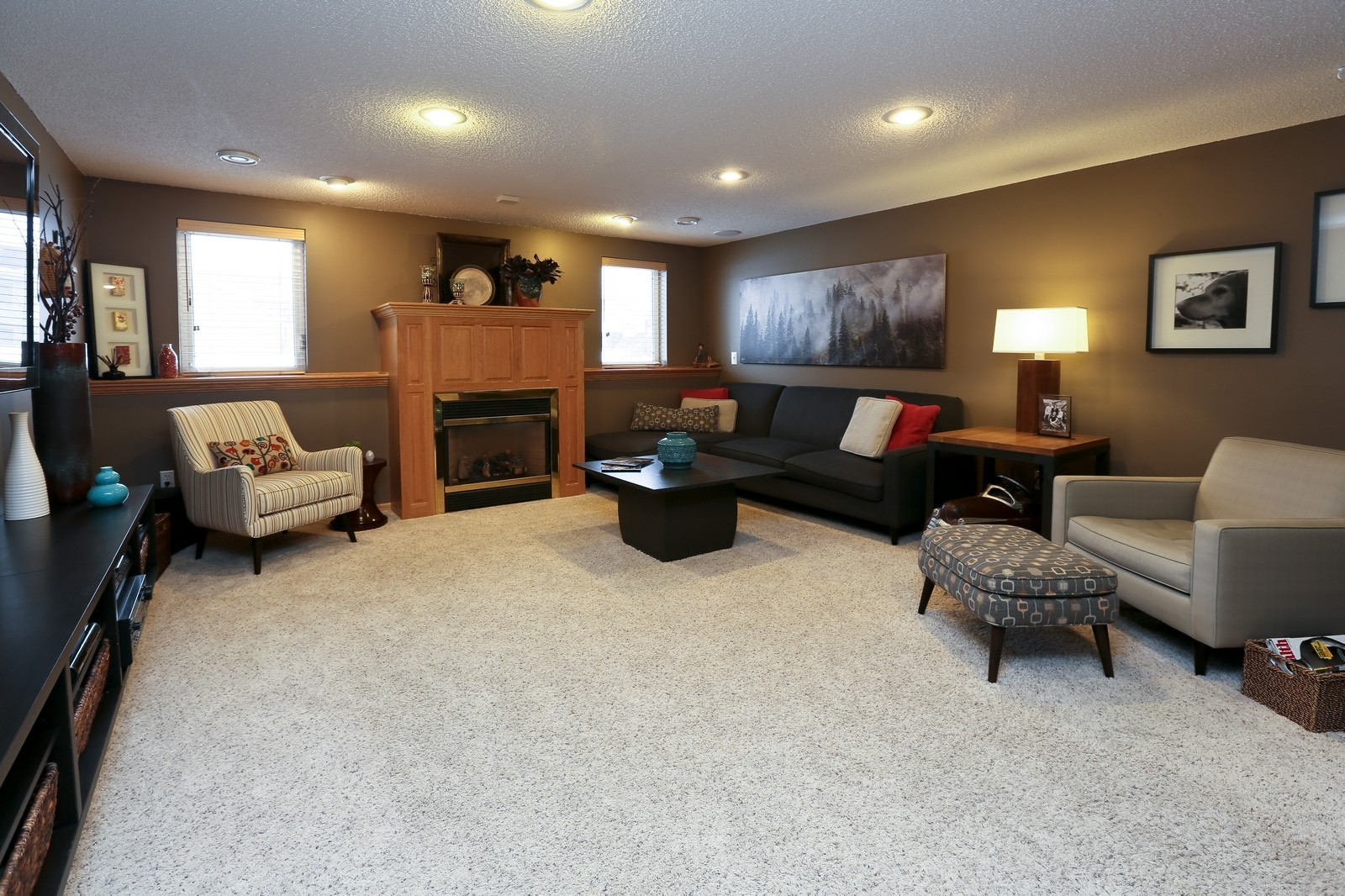 Real Estate Photography - 15488 Linnet Street NW, Andover, MN, 55304 - Family Room