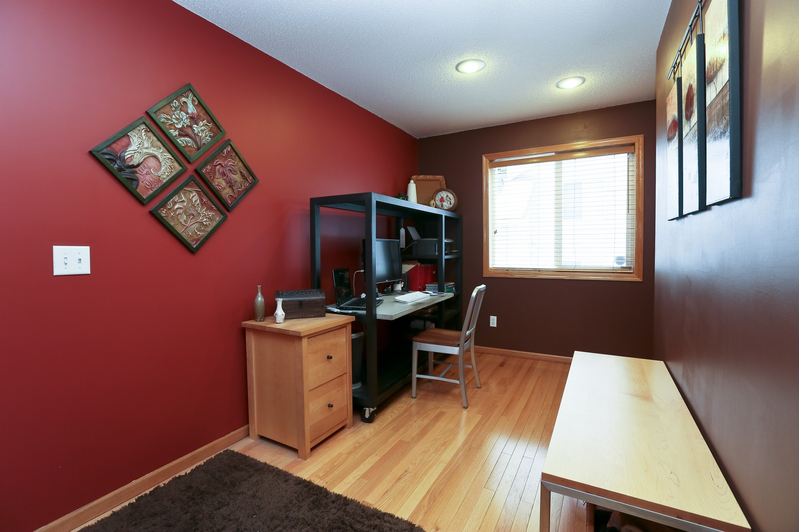 Real Estate Photography - 15488 Linnet Street NW, Andover, MN, 55304 - Office