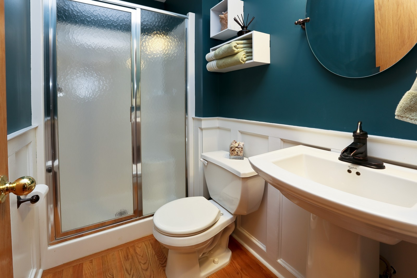 Real Estate Photography - 15488 Linnet Street NW, Andover, MN, 55304 - Main Level Bathroom
