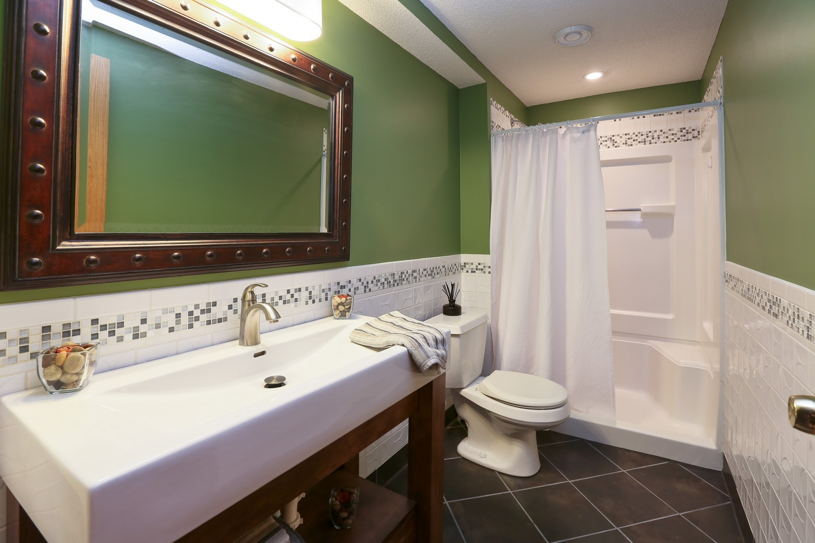 Real Estate Photography - 15488 Linnet Street NW, Andover, MN, 55304 - Lower Level Bathroom
