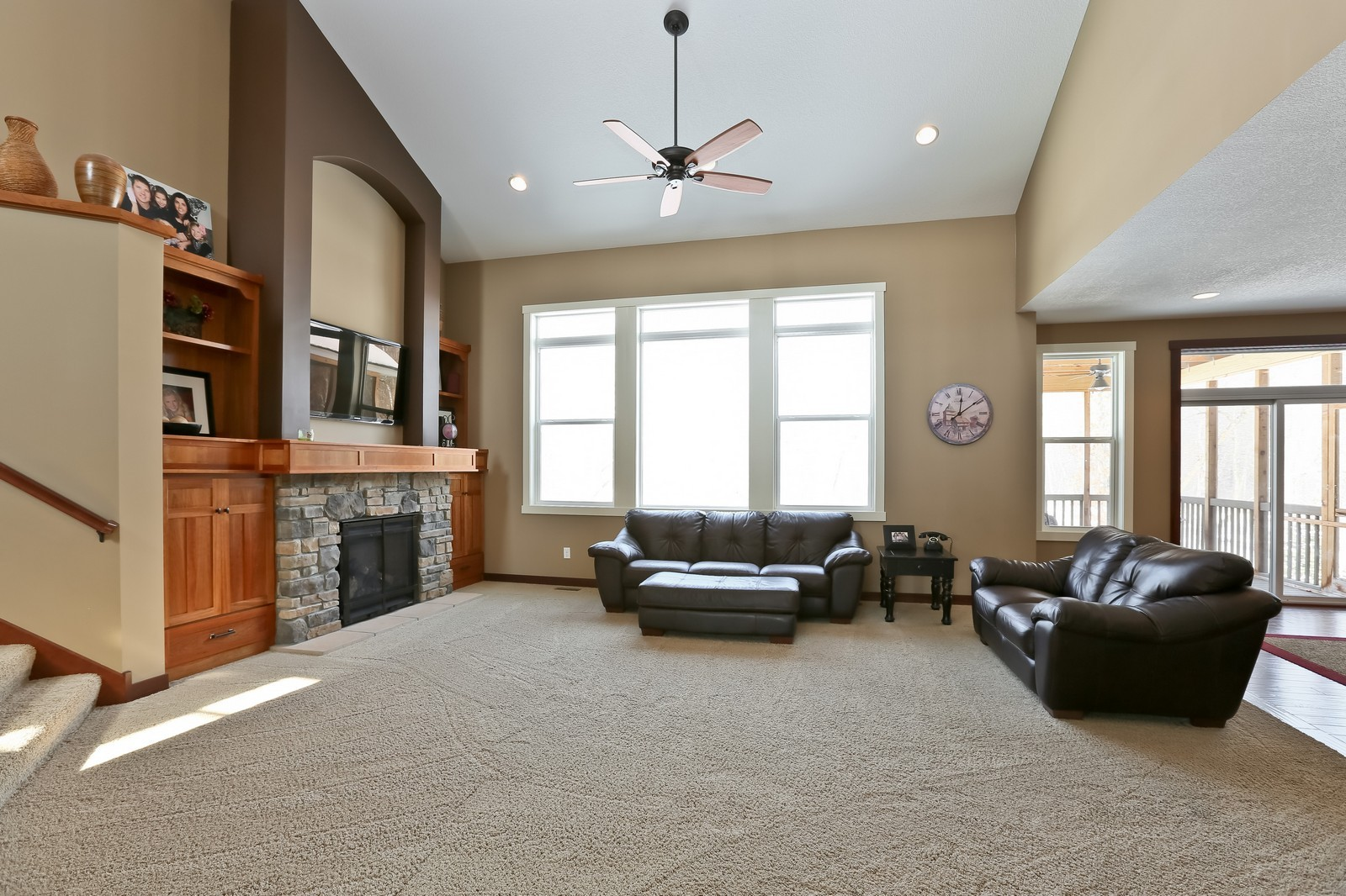 Real Estate Photography - 859 Fox Rd, Lino Lakes, MN, 55014 - Living Room