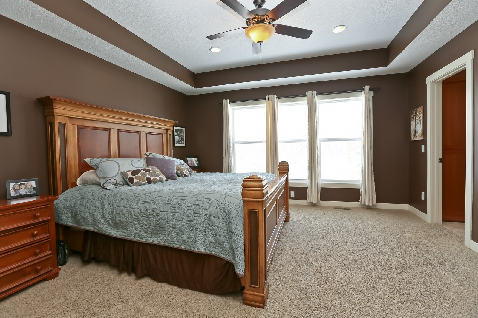 Real Estate Photography - 859 Fox Rd, Lino Lakes, MN, 55014 - Master Bedroom