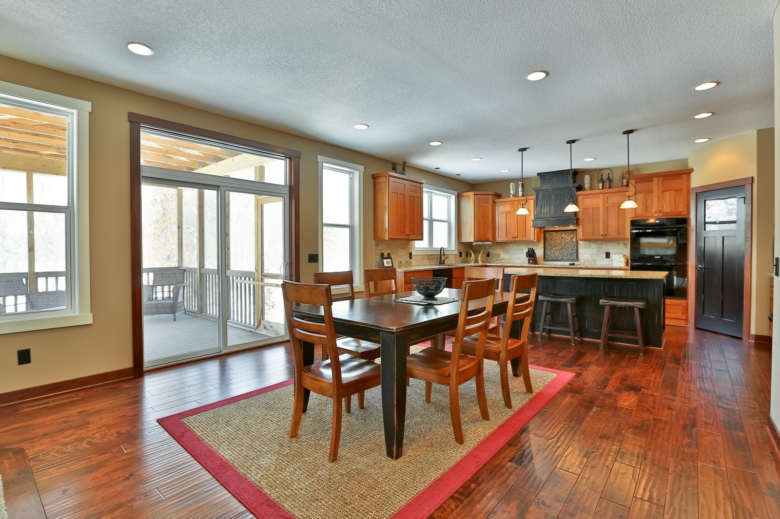 Real Estate Photography - 859 Fox Rd, Lino Lakes, MN, 55014 - Dining Room