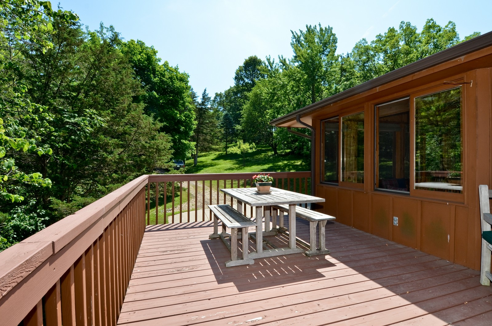 Real Estate Photography - N8885 1250th Street, River Falls, WI, 54022 - Terrace