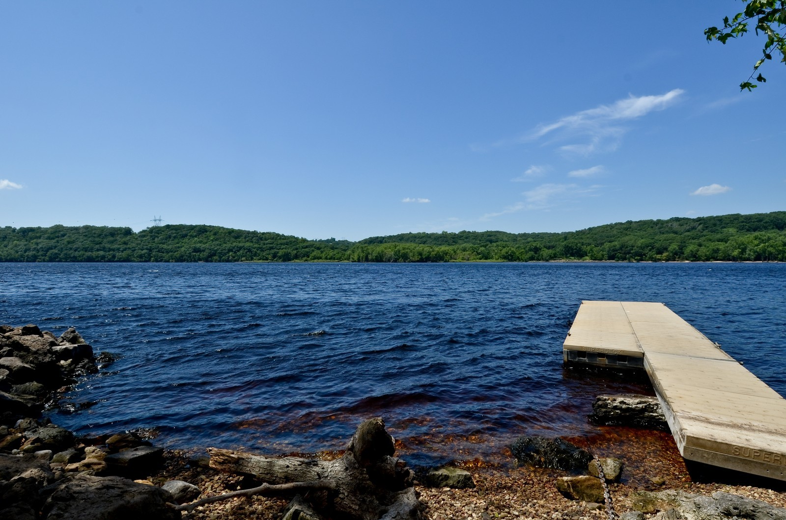 Real Estate Photography - N8885 1250th Street, River Falls, WI, 54022 - Dock