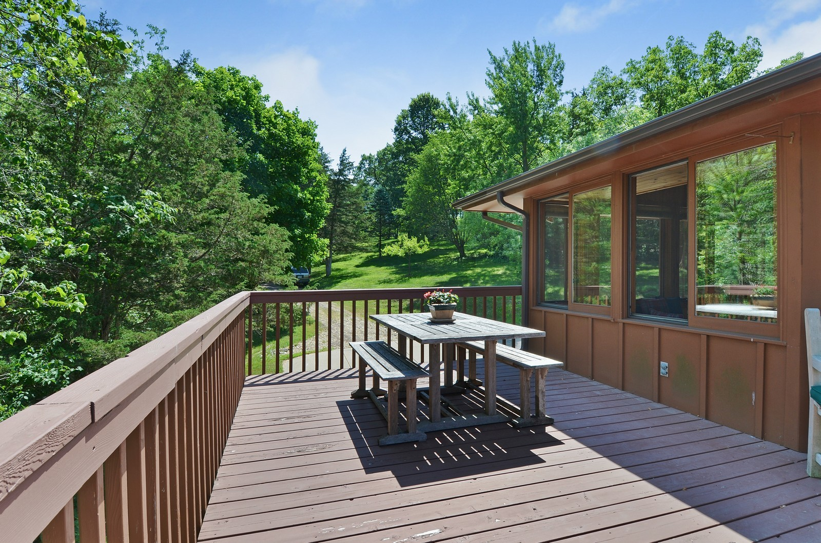 Real Estate Photography - N8885 1250th Street, River Falls, WI, 54022 - Terrace 3