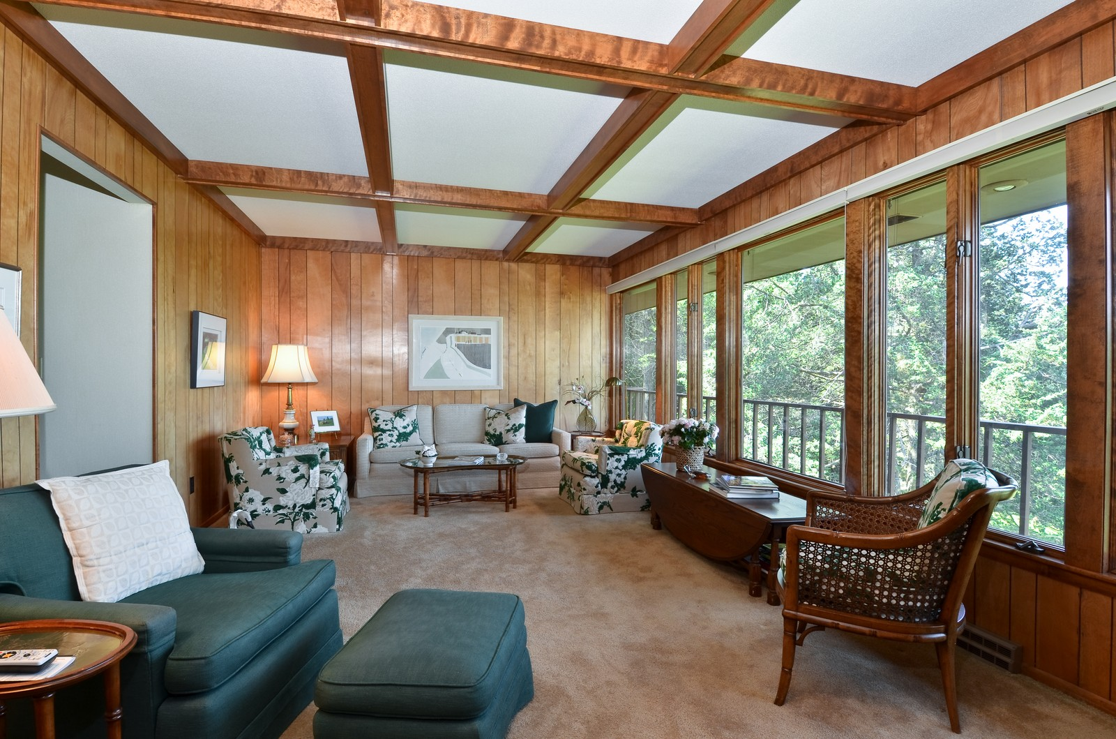 Real Estate Photography - N8885 1250th Street, River Falls, WI, 54022 - Living Room