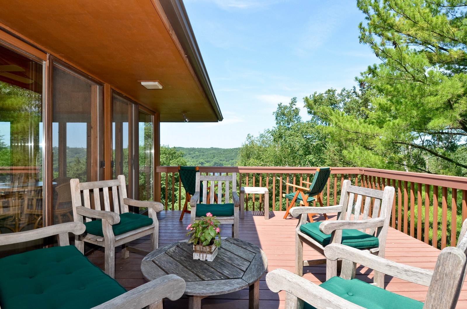 Real Estate Photography - N8885 1250th Street, River Falls, WI, 54022 - Deck
