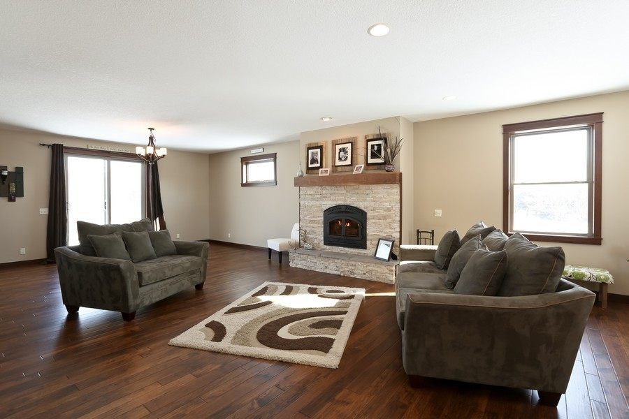 Real Estate Photography - 1050 LaBarge Road, Hudson, WI, 54016 - Living Room